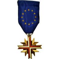 France, Confédération Européenne Des Anciens Combattants, Médaille, Très - Militaria