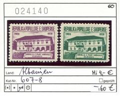 Albanien - Albanie - Albania - Michel 607-608 - ** Mnh Neuf Postfris - - Albanien