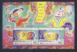 ILES CHRISTMAS 1995 ANNEE DU COCHON  YVERT N°B16  NEUF MNH** - Nouvel An Chinois