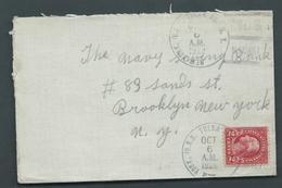 United States US Navy Ship Mail 1926 Cover Used On USS Tulsa - United States