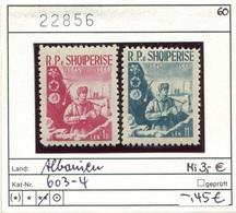 Albanien - Albanie - Albania - Michel 603-604 - ** Mnh Neuf Postfris - - Albanien