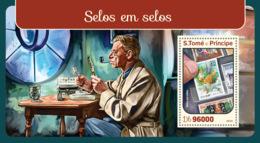 Sao Tome 2016  Stamps On Stamps - Sao Tome And Principe