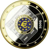 France, Médaille, Géants Euro, 2009, FDC, Copper Gilt - France
