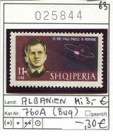 Albanien - Albanie - Albania - Michel 760 A - ** Mnh Neuf Postfris - Marke Hat Bug - Popovic - Albanien