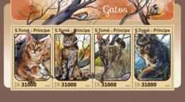 Sao Tome 2016  Fauna Cats - Sao Tome And Principe