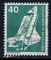Allemagne Fédérale - Germany - Deutschland 1975-76  Y&Tn°699 - Michel N°850 (o) - 40p Navette Spatiale - [7] République Fédérale