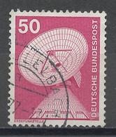Allemagne Fédérale - Germany - Deutschland 1975-76  Y&Tn°700 - Michel N°851 (o) - 50p Station De Poursuite - [7] République Fédérale