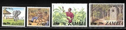 Zambia 1979 Surcharged With New Value MNH - Zambie (1965-...)