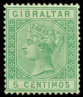 Gibraltar ,1889 5c. Green , MNH ** - Non Classés