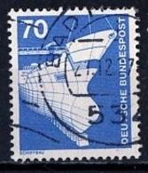 Allemagne Fédérale - Germany - Deutschland 1975-76  Y&Tn°701 - Michel N°852 (o) - 70p Construction Navale - [7] République Fédérale