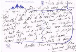 ASTRONOMIE- En Suivant L'Etoile - Photo Pierre Claude -   Scans Recto Verso- Paypal Free - Astronomie