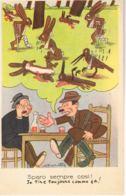 ITALIA- Illustrateur Signé  MAROTTA -Sparo Sempre Cosi   -Humour - Voyagée 1954-   Scans Recto Verso- Paypal Free - Autres