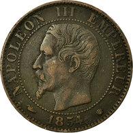 Monnaie, France, Napoleon III, Napoléon III, 5 Centimes, 1854, Marseille, TB+ - C. 5 Centimes