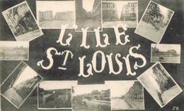 PARIS -Ile Saint-Louis  Multivues -    Scans Recto Verso- Paypal Free - France