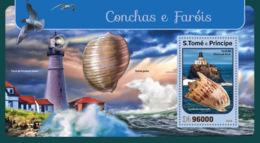 Sao Tome 2016 Shells And Lighthouses - Sao Tome And Principe