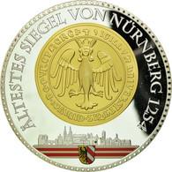 Allemagne, Médaille, Nuremberg, 2012, FDC, Cuivre Plaqué Argent - Allemagne