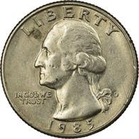 Monnaie, États-Unis, Washington Quarter, Quarter, 1985, U.S. Mint, Denver, TB+ - 1932-1998: Washington