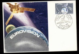 France 1980 Eurovision Maxicard - 1980-89