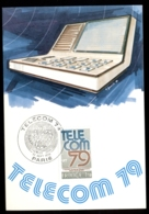 France 1979 Telecom '79 Maxicard - Maximum Cards