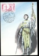 France 1979 Joan Of Arc Monument Maxicard - 1970-79