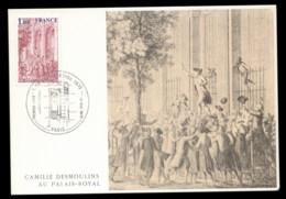 France 1979 Royal Palace Maxicard - Maximum Cards