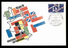 France 1979 European Elections Maxicard - Maximum Cards