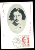 France 1979 Simone Weil Maxicard - Maximum Cards