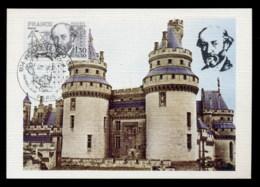 France 1980 Eugene Violet Le Duc Maxicard - Maximum Cards