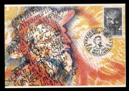 France 1980 Frederic Mistral Maxicard - Maximum Cards