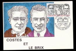 France 1981 Breuget Biplane Maxicard - Maximum Cards