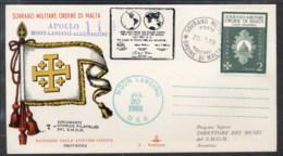Malta 1969 Sovereign Military Order Apollo 11 Moon Landing FDC - Malte (Ordre De)