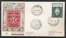 Malta 1969 Sovereign Military Order Post Inauguration FDC - Malte (Ordre De)