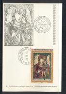 Malta 1972 Sovereign Military Order Xmas Maxicard - Malte (Ordre De)