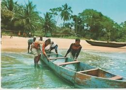 C.P. - PHOTO - CAMEROUN - LA PLAGE A KRIBI - COMMISSARIAT GÉNÉRAL AU TOURISME - Cameroun