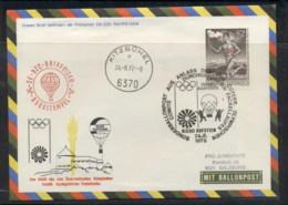 Austria 1972 Summer Olympics Munich FDC - FDC