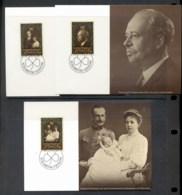 Liechtenstein 1981 Prince Franz Joseph II Birthday 3x Maxicards - FDC