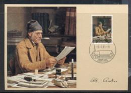 Switzerland 1981 The Parish Clerk Maxicard - Maximum Cards