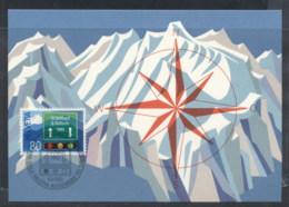 Switzerland 1980 Opening Of St Gothard Tunnel Maxicard - Maximum Cards
