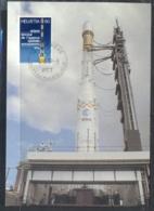 Switzerland 1979 Rocket, Three Stage Launcher, Ariane Maxicard - Maximum Cards