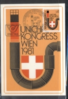 Austria 1981 Heating Engineers Congress Maxicard - FDC
