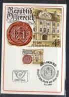 Austria 1981 Town Hall & Seal Maxicard - FDC