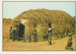 C.P. - PHOTO - SÉNÉGAL -UNE CASE PEULH - WAKHATILENE - 66 - - Senegal