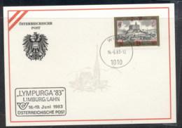 Austria 1983 Weitra Lympurga '83 Souvenir Card - FDC