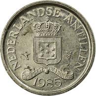 Monnaie, Netherlands Antilles, Juliana, 10 Cents, 1985, TTB, Nickel, KM:10 - Antilles Neérlandaises