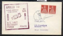 USA 1969 Space, Apollo 10 Souvenir Cover - Event Covers