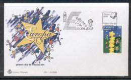 Spain 2000 Europa Field Of Stars FDC - FDC