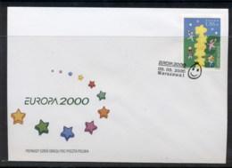 Poland 2000 Europa Field Of Stars FDC - FDC
