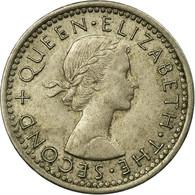 Monnaie, Nouvelle-Zélande, Elizabeth II, 3 Pence, 1965, TB+, Copper-nickel - Nouvelle-Zélande