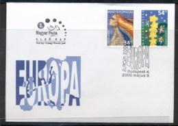 Hungary 2000 Europa Field Of Stars FDC - FDC