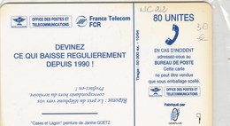 TELECARTE 80 UNITES  NOUVELLE-CALEDONIE - New Caledonia